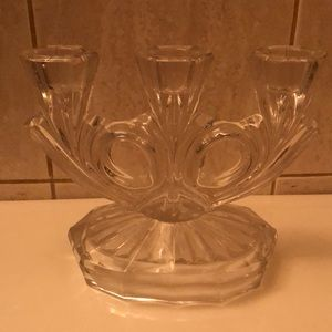 Other - Crystal candle holder